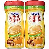 Coffee-Mate Koffiemat, Sugar Free Hazelnut, Powdered Koffiecreamer, 10.2oz jerrycan (Pack van 2)