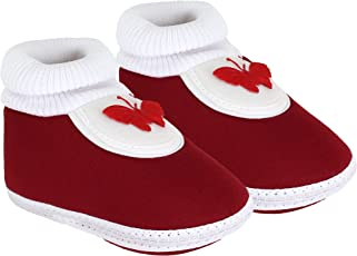 Neska Moda Baby Infant Soft Booties for Age Group 0 to 12 Months