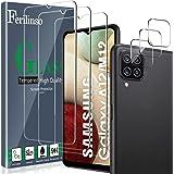 Ferilinso [6 Pezzi] 3 Pezzi Pellicola Protettiva per Samsung Galaxy A12/A12 Nacho/M12 Vetro Temperato + 3 Pezzi Pellicola Fot