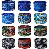TAIYUNWEI Outdoor Multifunctional Sports Magic Seamless Scarf, 12PCS Magic Head Scarf, Elastic Headband Bandana, UV Resistanc