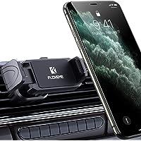 FLOVEME Handyhalterung Auto Lüftung Doppelter Luftauslass Drehbar KFZ Halterungen handy halter Für iPhone SE 2020 11 Pro X 8 7 Plus Samsung S20 S10 S9 Huawei Smartphone Handy-Zubehör GPS-Gerät Klammer