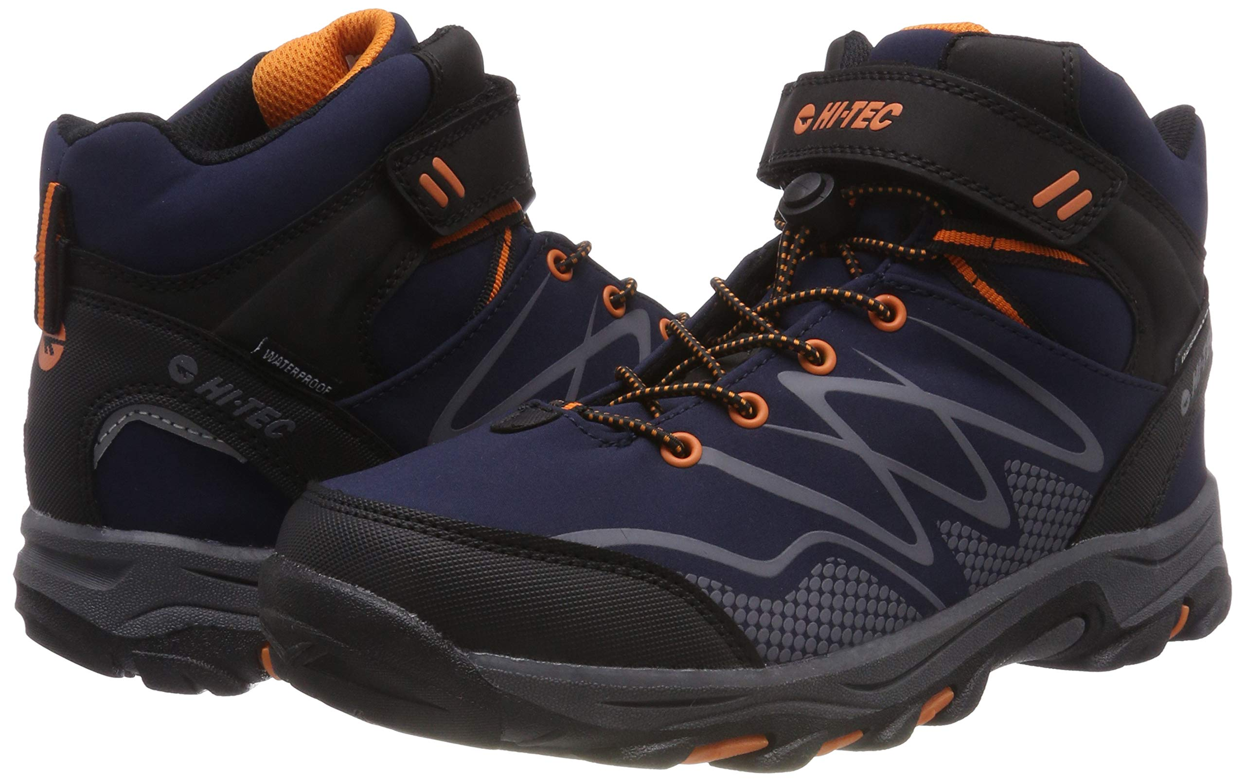 Hi-Tec Unisex Kids' Blackout Mid Wp Jr High Rise Hiking Boots 5
