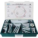 mit Spitze 2,9x9,5 - 25 St/ück ISO 14585 Blechschrauben mit Linsenkopf - SC7981 - Edelstahl A2 V2A - DIN 7981 - Form C Innensechsrund Antrieb TX