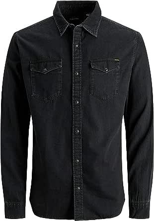 Jack & Jones Men's Jjesheridan Shirt L/S Denim