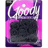 Goody 1942207 Classics Rubber Band, Black, 250 Units