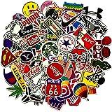 Jackify Adesivi Pack 100 PCS, Cool Stickers Vinili per Computer Portatile, Bottiglie d'Acqua, Bagagli, Skateboard, Auto, Moto