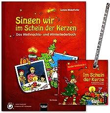 Singen wir im Schein der Kerzen - Buch, CD - ein begeisterndes Weihnachts- und Winterliederbuch - mit 177 Liedern, Songs, Raps, Kanons etc - Helbling Verlag 9783850615655 9783850617826