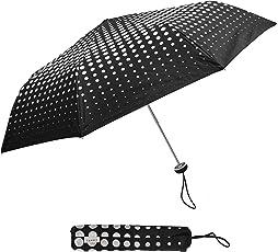 Esprit Polyester Manual Mini ALU Black Umbrella