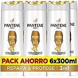 Pantene Pro-V Repara & Protege Champú, Acondicionador Y Tratamiento 3En1, Combate Al Instante Los Signos Del Daño, 6 x 300m