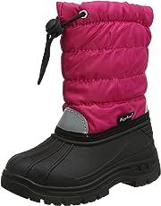 Playshoes Kinder Warm gefütterte Schneestiefel, Winterstiefel