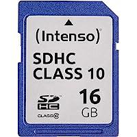 Intenso SDHC 16GB Class 10 Speicherkarte blau