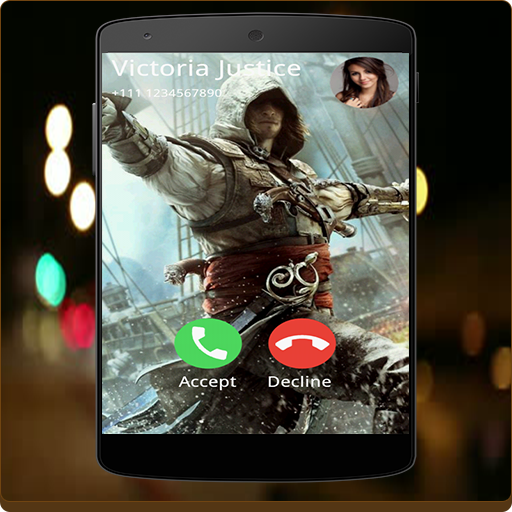 Call Screen (Assassins Creed Full Screen Photo Call Receiver)