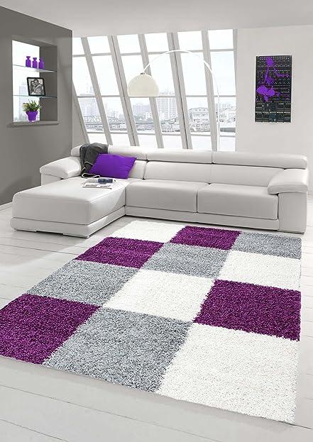 Shaggy Teppich Hochflor Langflor Teppich Wohnzimmer Teppich