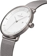 Nordgreen Philosopher Damen- und Herrenuhr in Silber