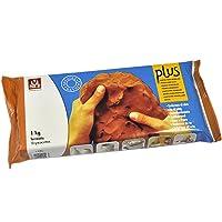 Sio2 Plus - Argilla da modellare, 1 kg, colore: terracotta