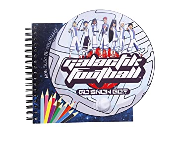 Coloriage Football Fcb.Clairefontaine Galactik Football Colouring Book 42 Spiral Notebook
