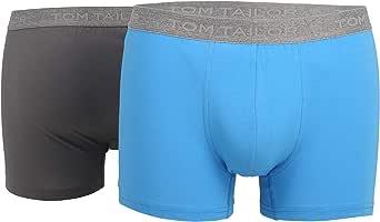 TOM TAILOR Men's Plain Underwear Set Blue blau-hell-multicolor1