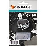 GARDENA robotmaaier reservemessen: lemmeten voor robotmaaier (voor artikel 4071 en 4072), nauwkeurig maaien, set met 9 geslep