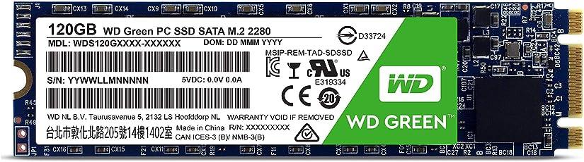 WD Green 120GB SATA III M.2 Internal SSD (WDS120G1G0B)