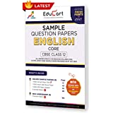 Educart CBSE Class 12 English Language & Literature Sample Question Papers 2021 (As Per 9th Oct CBSE Sample Paper)