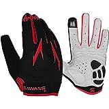 Cycling Gloves Full Finger Mountain Bike Gloves Padded Breathable Touchscreen MTB Road Biking Gloves for Men Women Camping,Cy