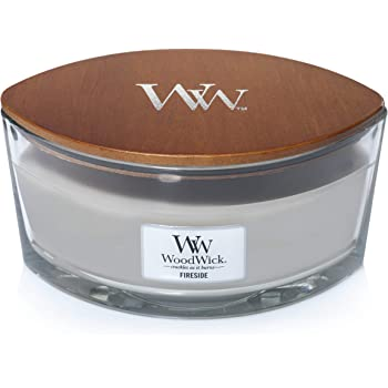 WoodWick Ellipse Scented Candle, Fireside