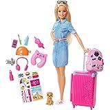 Barbie FWV25 Dreamhouse Adventures - Barbie gaat op Reis pop