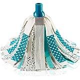 Leifheit Power Mop Tête de Rechange en Plastique Turquoise Taille Unique