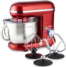 VonShef 800W Küchenmaschine Rührmaschine Knetmaschine
