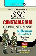 SSC Constable (GD) CAPFs (ITBPF/CISF/CRPF/BSF/SSB), NIA, SSF & Rifleman (Assam Rifles)