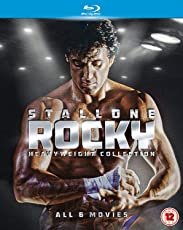 Rocky: The Complete Saga Heavyweight Collection: Rocky + Rocky II + Rocky III + Rocky IV + Rocky V + Rocky Balboa (6-Disc Box Set) (Slipcase Packaging + Fully Packaged Import)