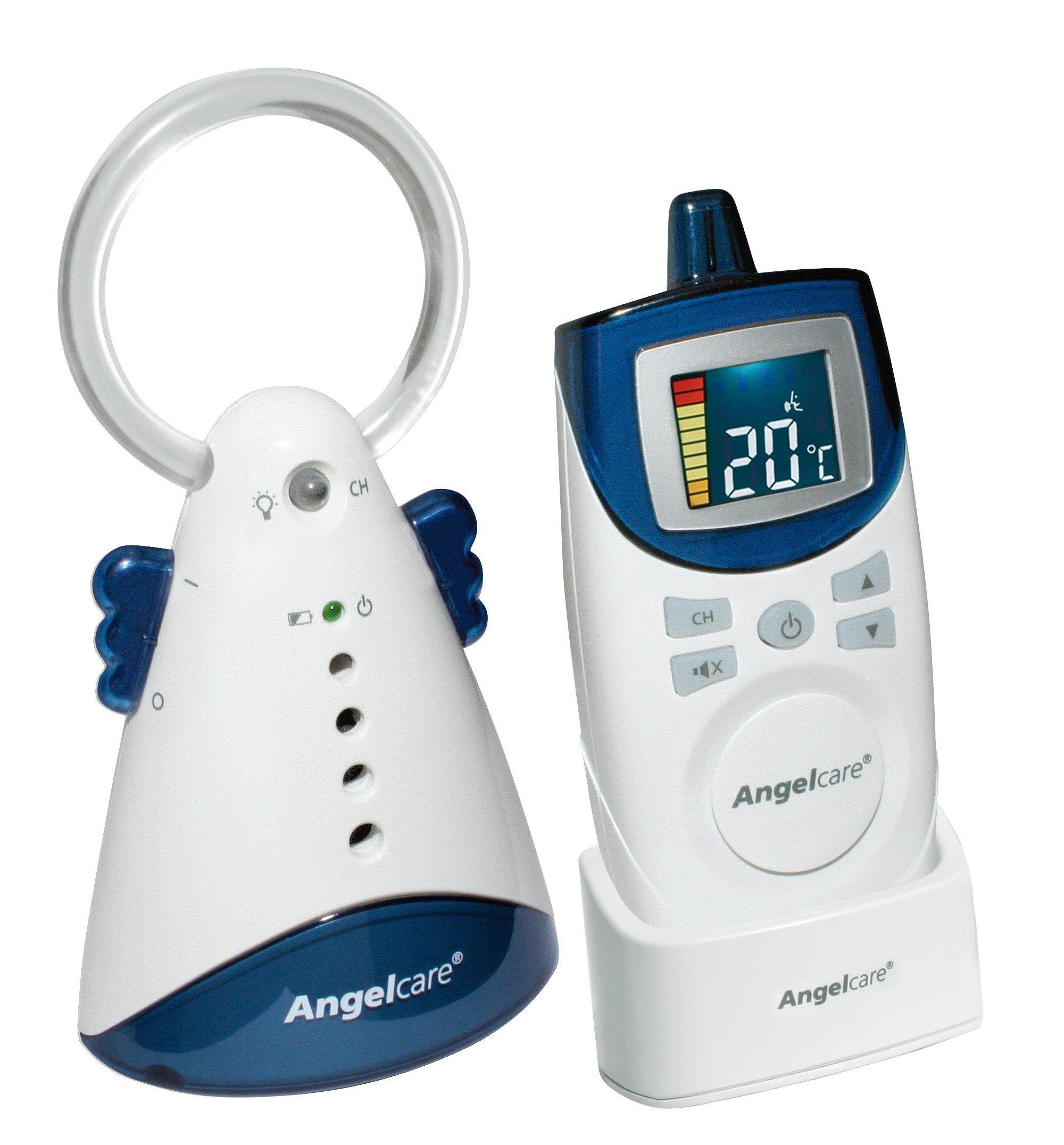 Angelcare 420-D Audio Babyphone mit Raumtemperaturanzeige, Nachtlicht