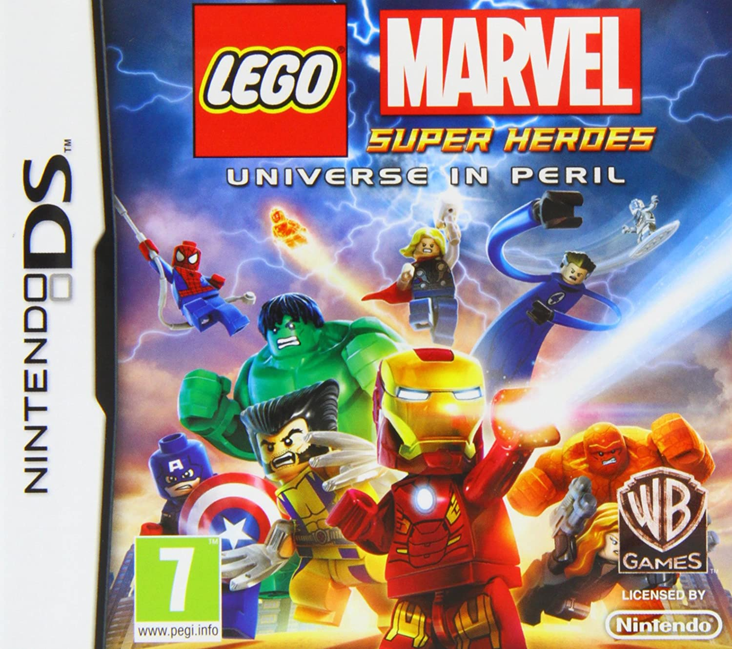 LEGO Marvel Super Heroes Universe in Peril Nintendo DS Amazon