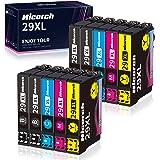 Hicorch 29XL Cartucce d'inchiostro Compatibile con Epson 29 XL per Epson Expression Home XP-235 XP-245 XP-255 XP-247 XP-332 X