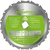 Evolution Power Tools F165TCT-14T (Fury) Multi-Material TCT Blade skär trä, metall och plast, 165 mm