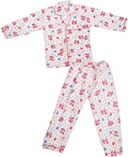 Krystle Printed Cotton Night Suit for Boys|Girls