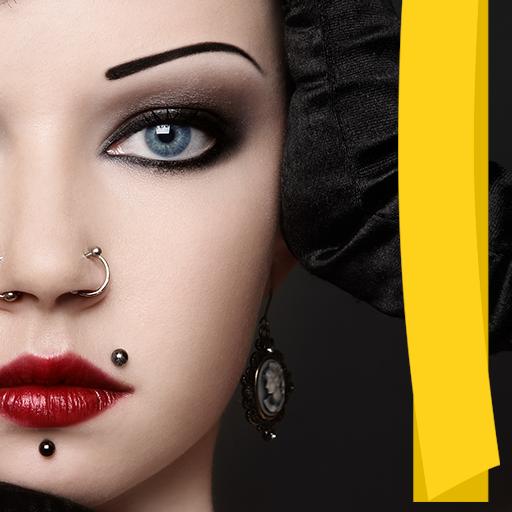 Piercing Foto-Editor