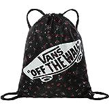 Vans BENCHED Bag, BOLSA BANCADA para Mujer, Belleza Floral Negro, One Size