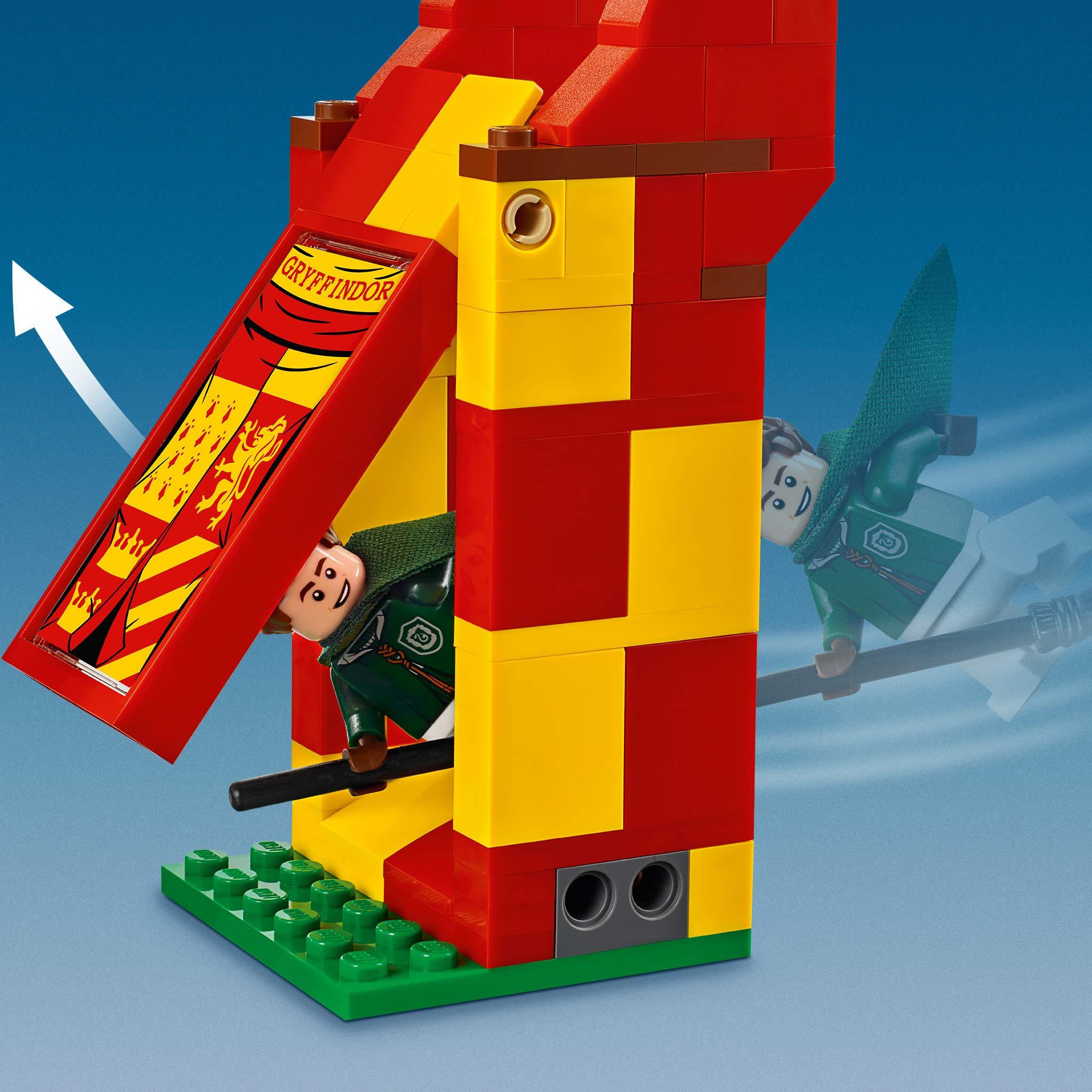 LEGO Harry Potter - Le match de Quidditch - 75956 - Jeu de ...