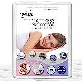 Twillie – Protège Matelas 160 x 200 cm Imperméable et Respirant - Alèse Qualité Supérieure Certifié Oeko-TEX® - Aegis® - Hypo
