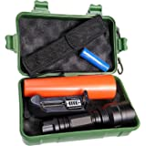 Linterna policia LED con Zoom. Incluye batería litio recargable, cargador, adaptadores a pilas Standard y caja. 1000 Lumenes.: Amazon.es: Iluminación