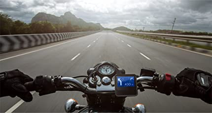 MaximusPro for GPS Based Navigation, Offline Direction on a Waterproof and Rugged Display for Bikes Like Royal Enfield, KTM, Harley Davidson and Triumph