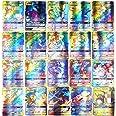 SunAurora 100PCS Cartes, Amusant Flash Card, GX Tag Team Cartes, Cadeaux de Noël et Cadeaux d'anniversaire pour Enfants