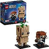 LEGOBrickHeadz Groot& Rocket (41626) – Marvel Legends