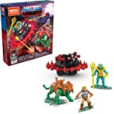 Mega Construx Battle Cat contra Roton de Masters of The Universe (Mattel GPH23)