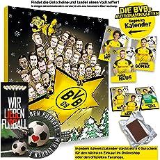 Borussia Dortmund Comic Adventskalender XXL Fairtrade BVB - Plus je 5 x gratis Lesezeichen & Aufkleber Wir lieben Fussball