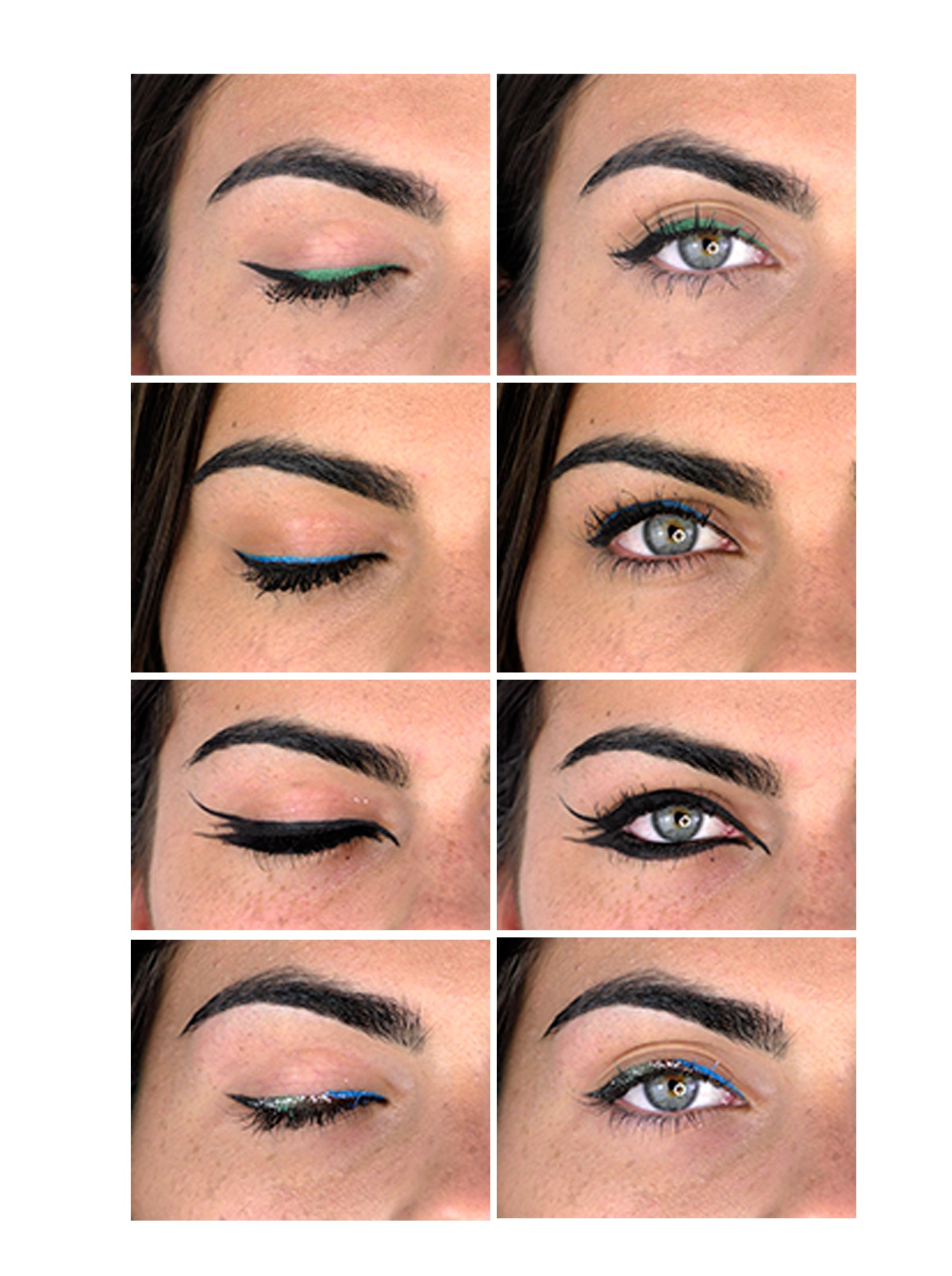Evoeye Eyeliner Eyelash Formula – Negro – Con fórmula de crecimiento de pestañas – (1×1,5ml)