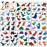 Tatuajes Temporales para Niños Niñas,80 No Repetitivo Dinosaurios Falso Applique,Genial tatoos Pegatinas,para Infantiles Adul