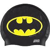 Zoggs Childrens Silicone Swimming Cap, Swim Hat, up to 14 years