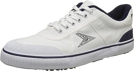 BATA Boy's Match White Sneakers - 9 Kids UK/India (27 EU) (8891043)